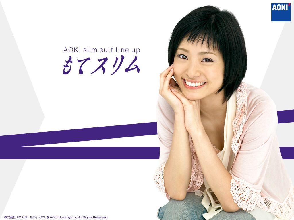 日本广告美女特辑壁纸