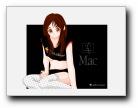 MAC女孩卡通壁纸