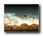 山脉&氢气球