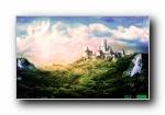 梦幻城堡 多彩多分辨率宽屏壁纸