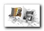 别墅建筑设计立体壁纸(共4104次)