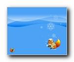 Firefox卡通主题Foxkeh 壁纸