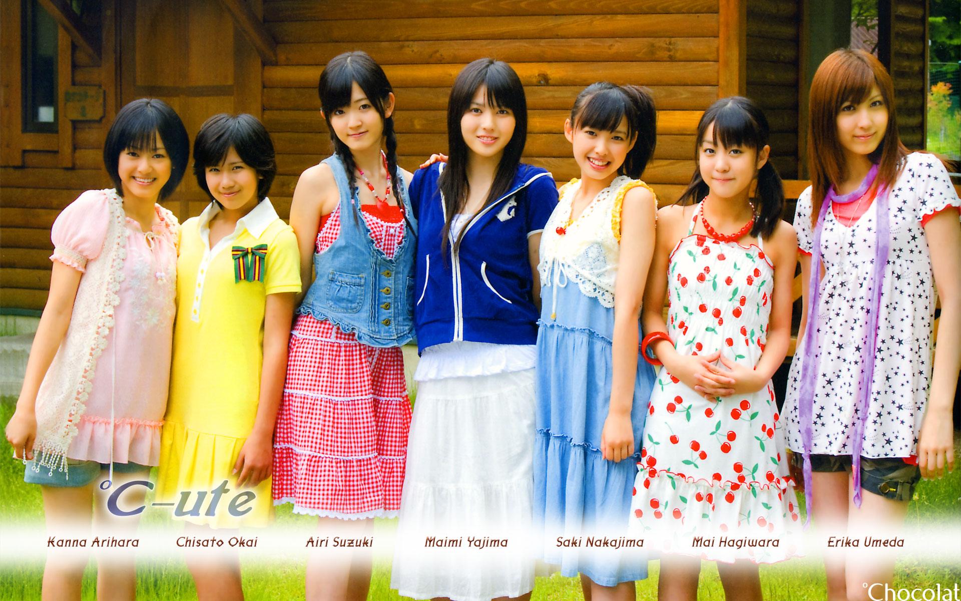 ℃-ute 明星美女壁纸(壁纸1)