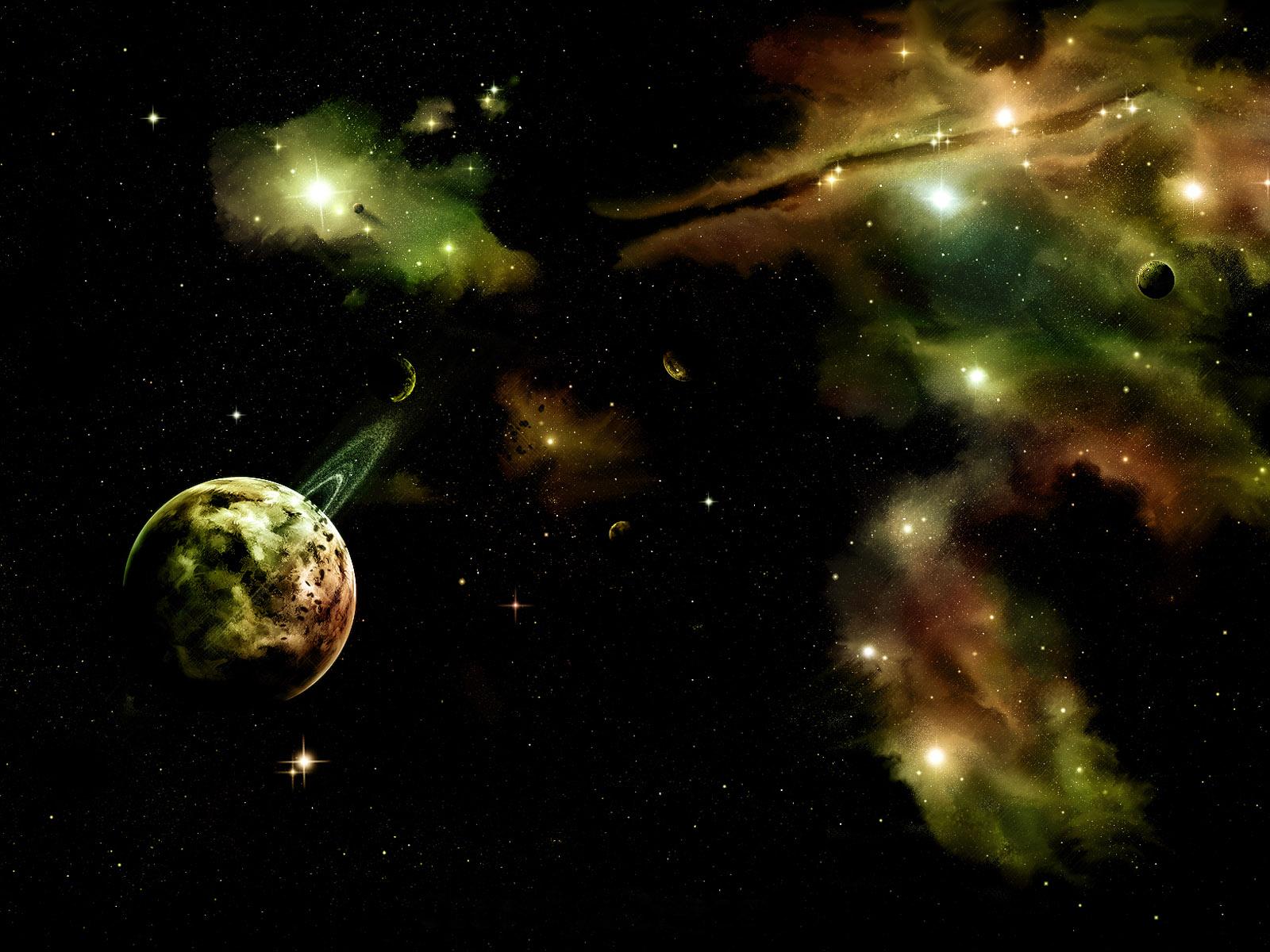 浪漫唯美宇宙星空高清壁纸(壁纸1)