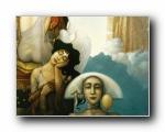 神话奇幻:Michael Parkes 抽象绘画