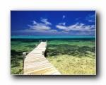 热带岛屿海滩高清风景壁纸(共24845次)