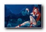 游戏MM美女(另类风格)宽屏壁纸(共3878次)