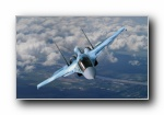 军用飞机CG宽屏壁纸