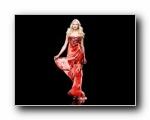 欧美晚礼服装模特壁纸