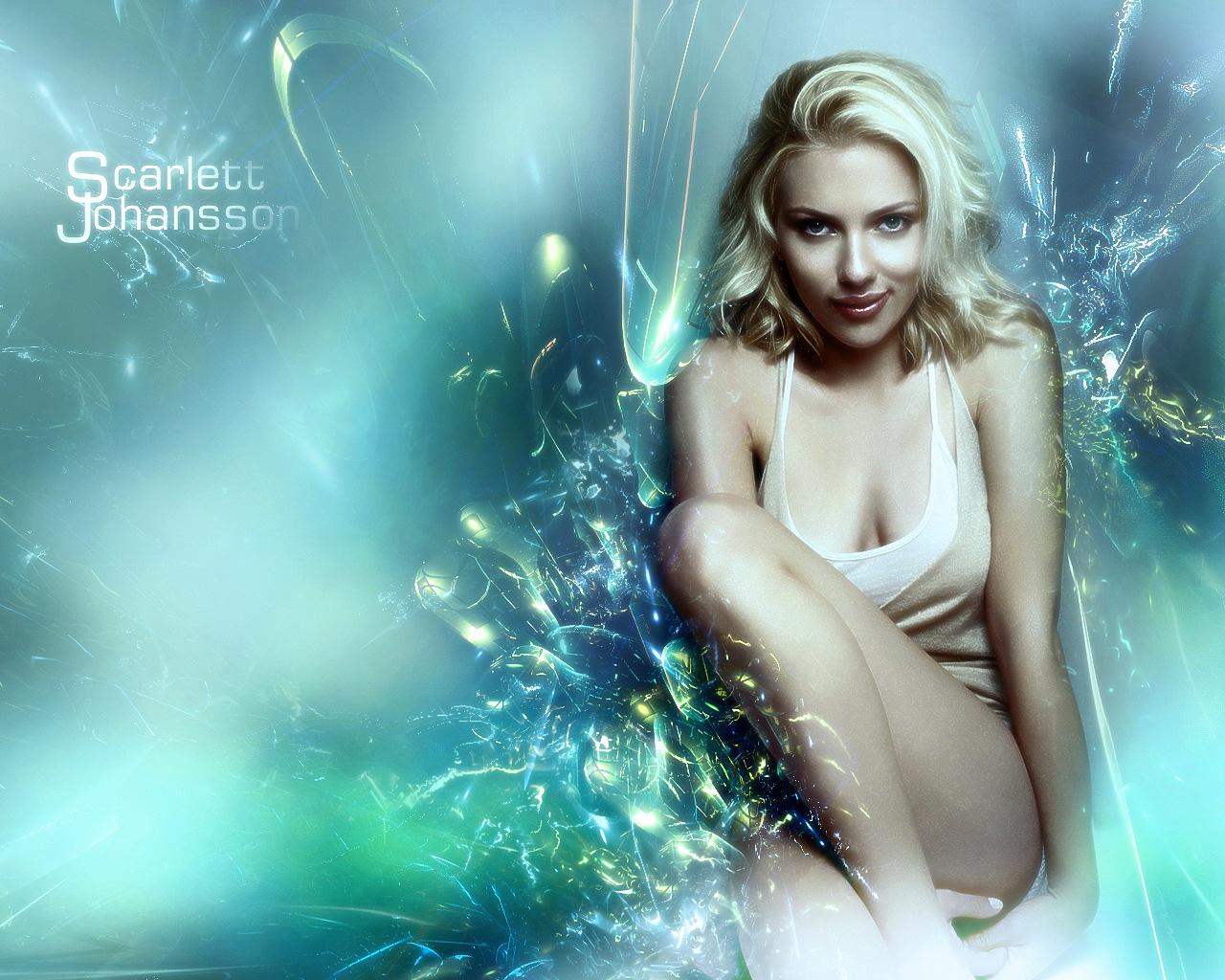 斯嘉丽?约翰逊(Scarlett Johansson)(壁纸1)