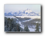 雪景、雪山、冰川(三)