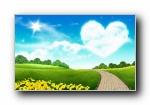 温馨家园 蓝天白云电脑设计壁纸(共70786次)