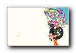 ZuneOriginals 抽象卡通 宽屏壁纸