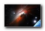 精美宇宙外太空设计宽屏壁纸(共9900次)