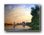 莫奈作品莫奈油画(Claude Monet Painting Art)