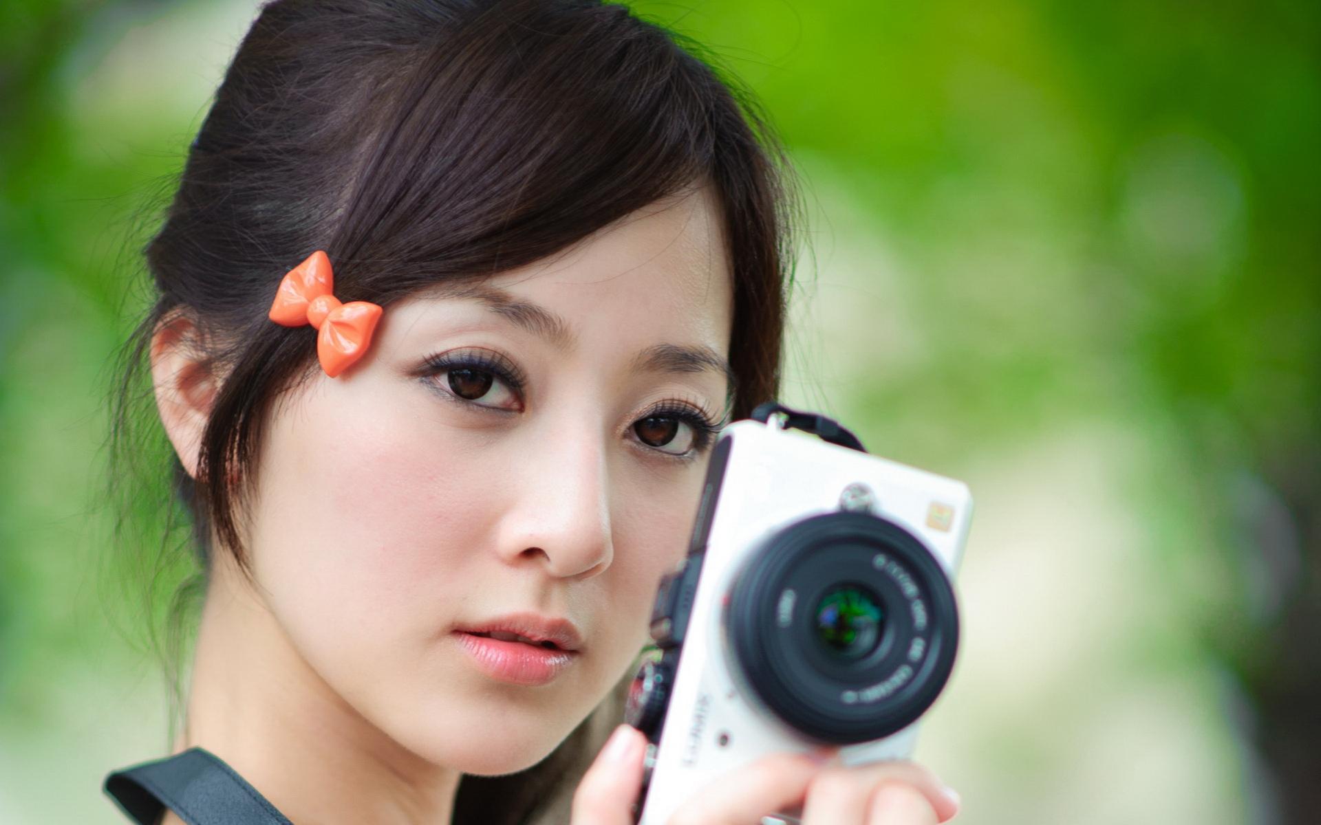 果子MM 高清摄影宽屏壁纸(公园篇)(壁纸1)