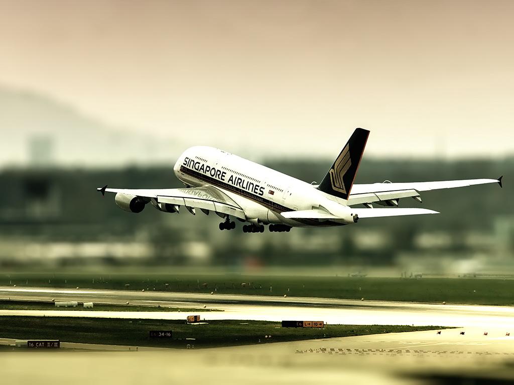 空中客车A380 (多分辨率)(壁纸1)