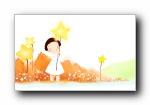 我的童话世界 可爱卡通壁纸