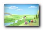 超毛星(Choobies) 可爱卡通宽屏壁纸
