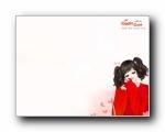 女孩专用:韩国卡通女孩情侣可爱精美壁纸(第二集)