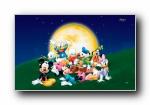 迪斯尼米奇老鼠可爱卡通美女壁纸 (第一集)