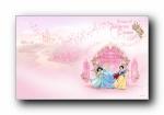迪斯尼公主可爱卡通壁纸 (第一集)