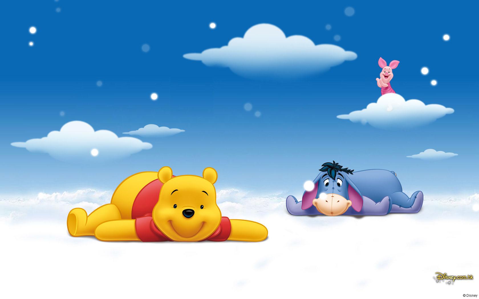 小熊维尼 Winnie the Pooh 可爱卡通宽屏壁纸(壁纸1)