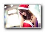 果子MM高清摄影壁纸(圣诞前夕)