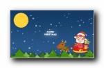 猪猪侠圣诞可爱卡通宽屏壁纸