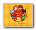 2012年新年Mocmoc Hami Sinbawa春节可爱卡通