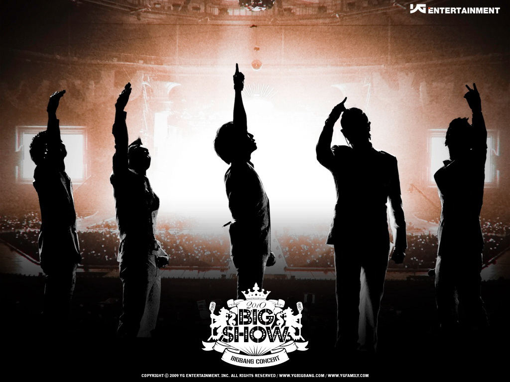 韩国实力偶像组合 BIGBANG 壁纸集(壁纸1)
