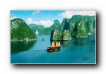 越南风光风景宽屏壁纸