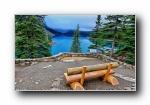 加拿大班夫国家公园风光风景宽屏壁纸