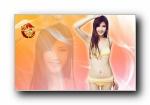 武魅娘《远征OL》美女模特宽屏壁纸