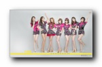 T-ara 美女组合代言Tony Moly宽屏壁纸