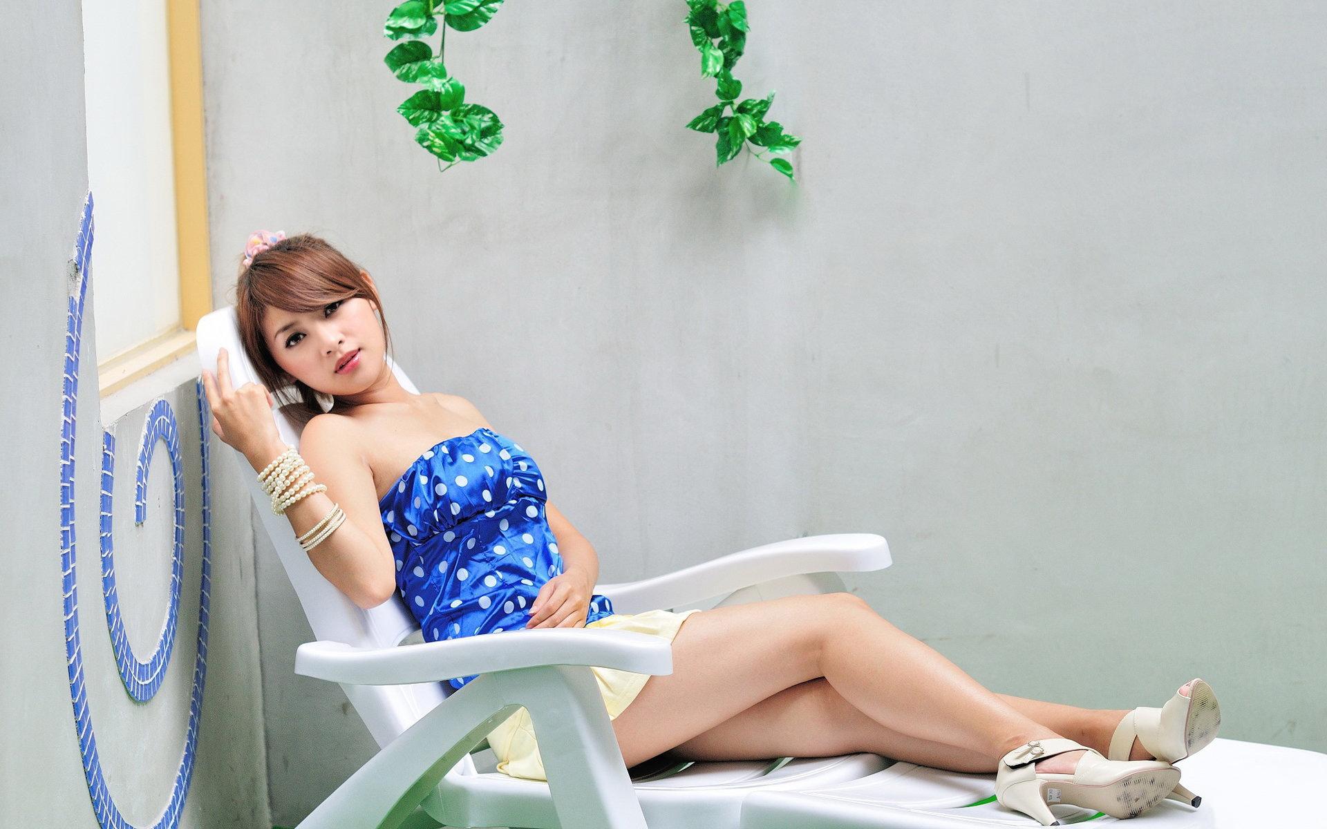 台湾模特安达熙(Daphny)宽屏壁纸(壁纸1)