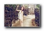 林允儿(Yoona)小清新风格宽屏壁纸