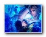 最终幻想10 男女主角情侣壁纸