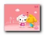 爱米莉《萌爱》可爱卡通壁纸
