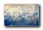 冬至 中国二十四节气 宽屏壁纸
