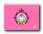 爱米莉《公主梦》可爱卡通宽屏壁纸