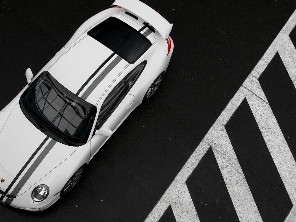 Porsche Cayman GT 保时捷(壁纸1)