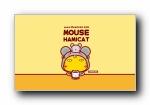 哈咪鼠 可爱卡通宽屏壁纸