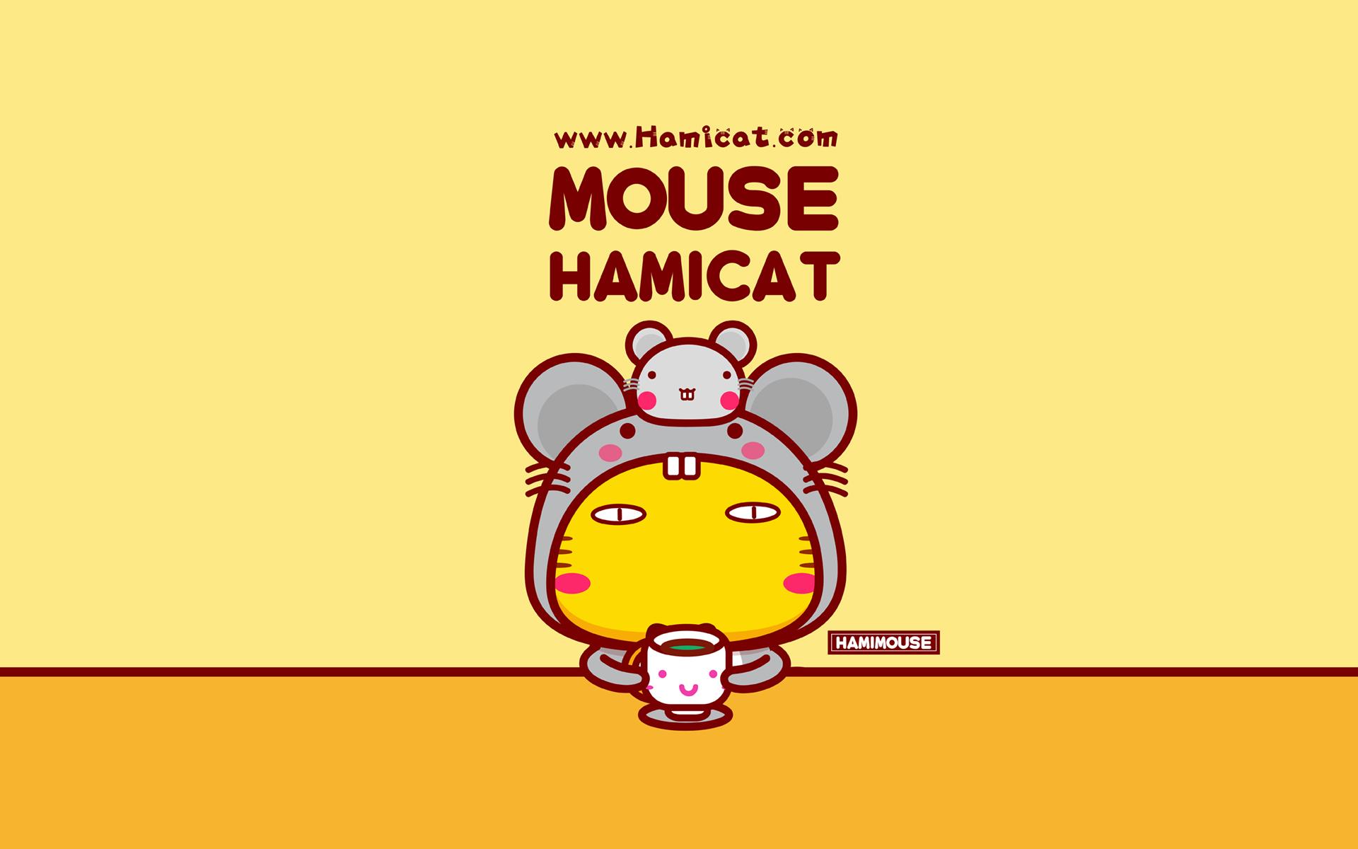 哈咪鼠 可爱卡通宽屏壁纸(壁纸1)