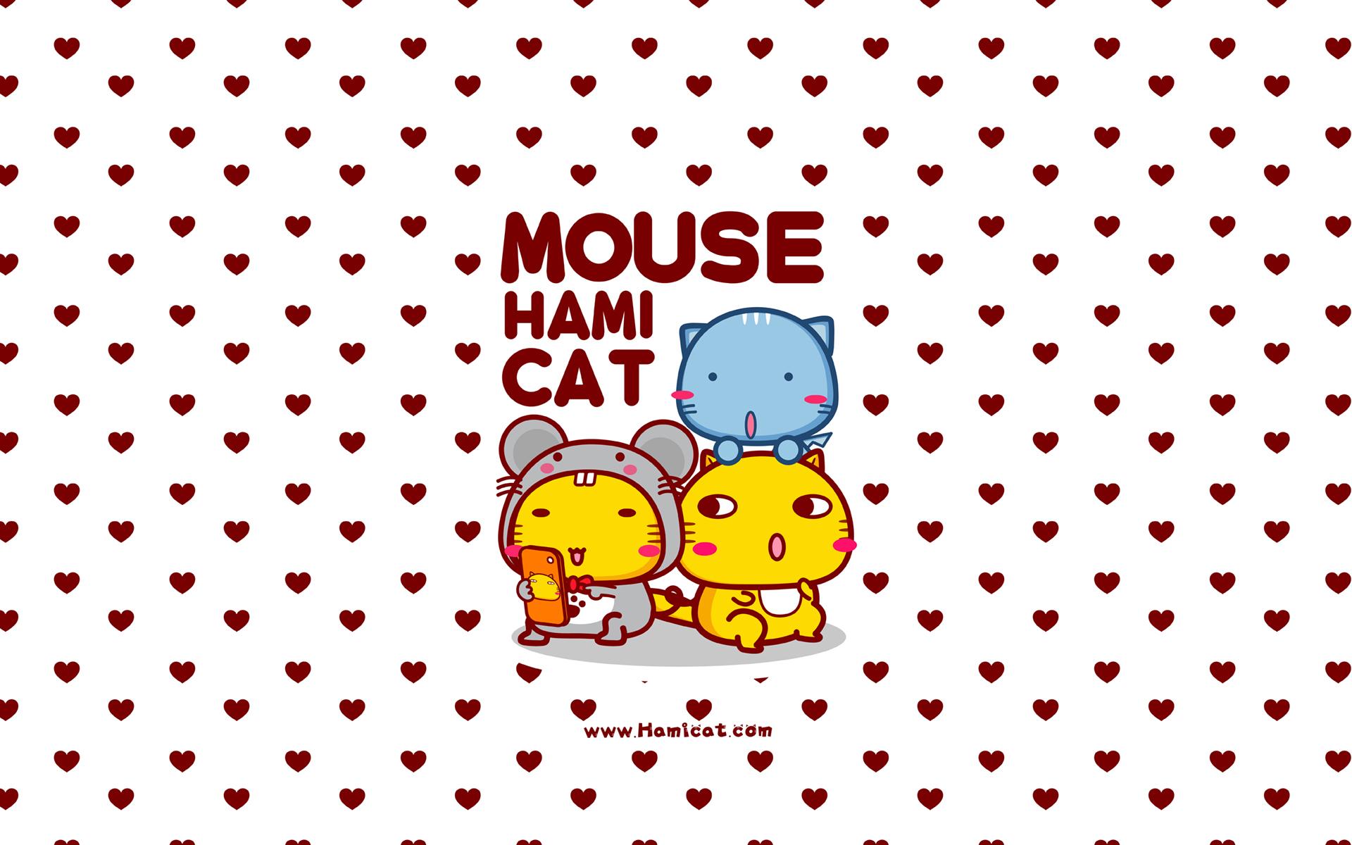 哈咪鼠 可爱卡通宽屏壁纸(壁纸9)